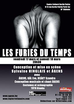 Affiche du spectacle Les Furies du Temps