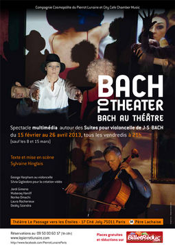 Affiche du spectacle Bach to theater